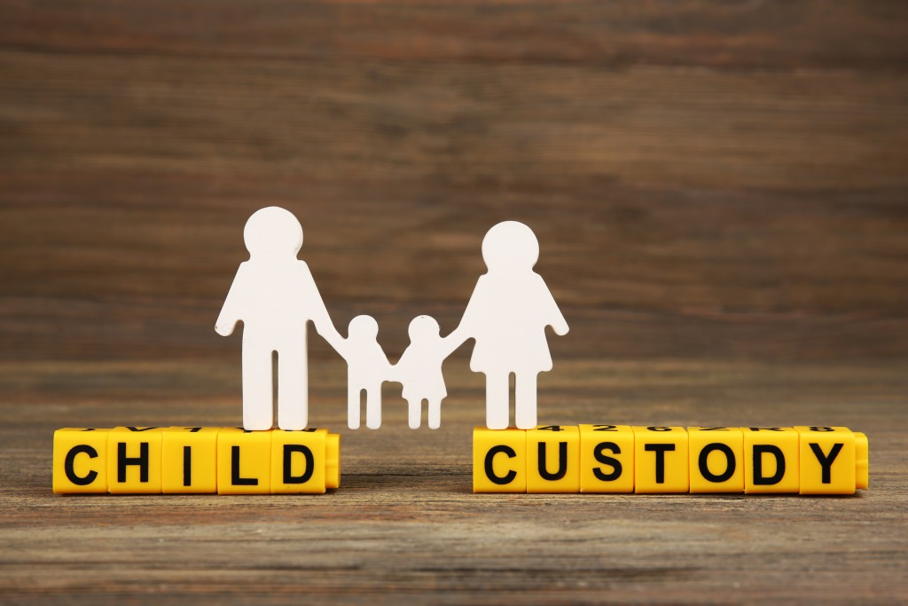 child custody concept